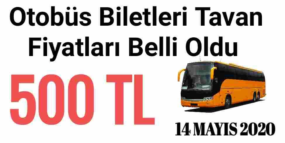 Otobüs Biletleri Zam