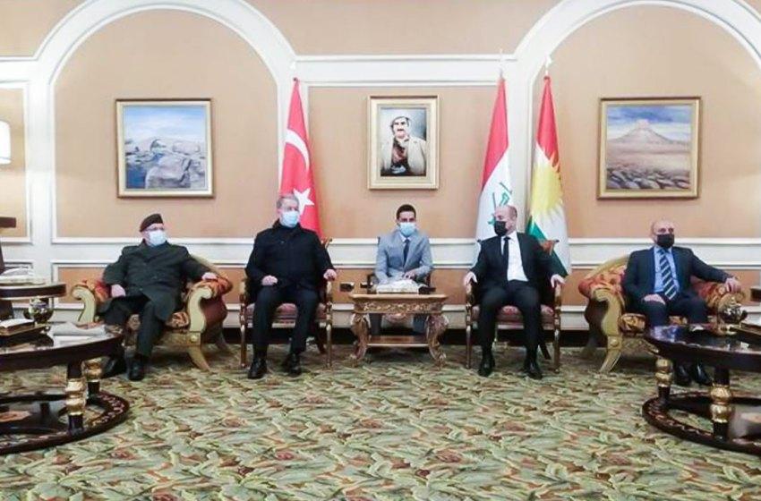 Turkish Minister of National Defense visits Baghdad and Erbil