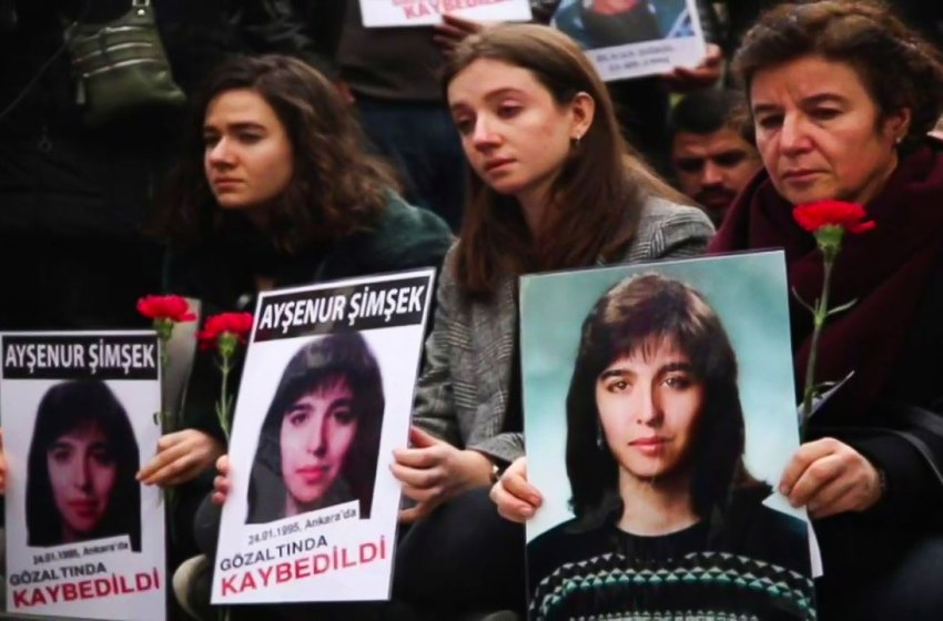 Saturday Mothers call for investigation into the murder of Ayşenur Şimşek