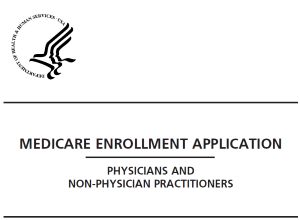 Medicare Provider Enrollment Application