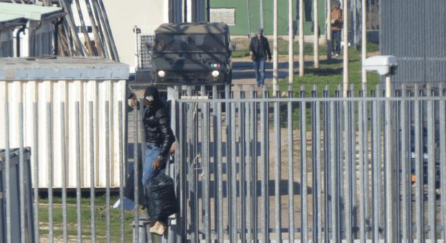 Imigranti utekaju