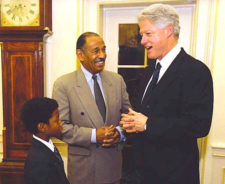John Conyers s Billom Clintonom