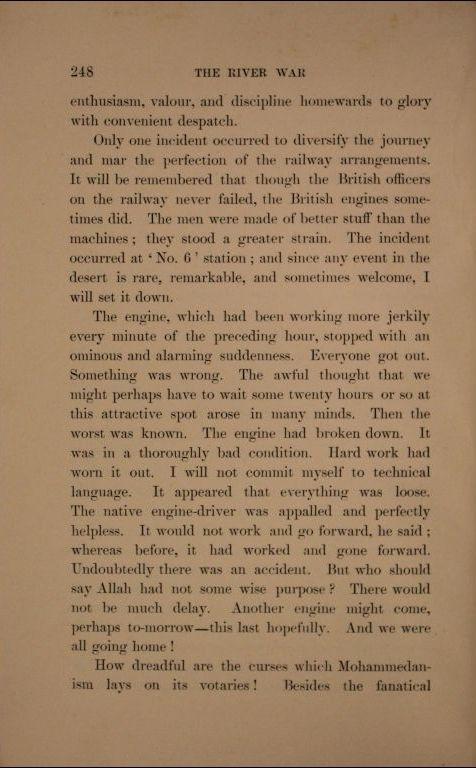 Riečna vojna II.diel, prvé vydanie, strana 248.