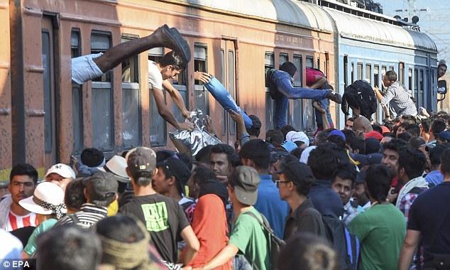Imigranti v Macedónsku