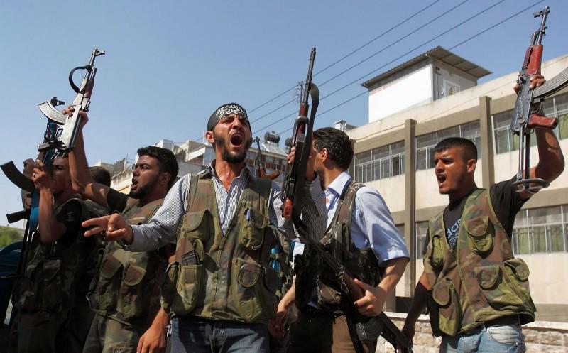 Bojovníci Slobodnej sýrskej armády