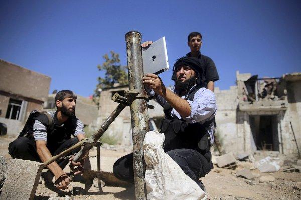 """""""Občianski aktivisti"""" v Sýrii"""