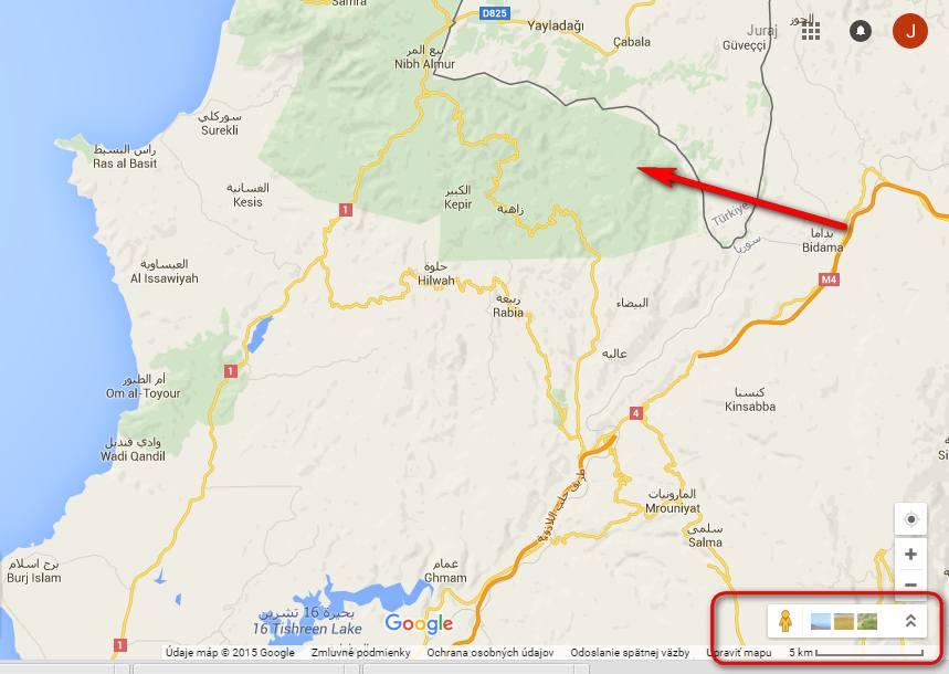 Turecko-Syria-mapa