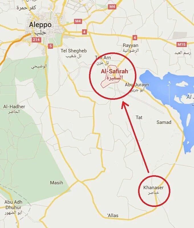 Postup ISIS na Al-Safirah