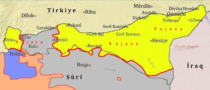 RojavaMap