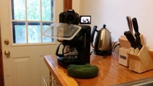 coffee maker tripod