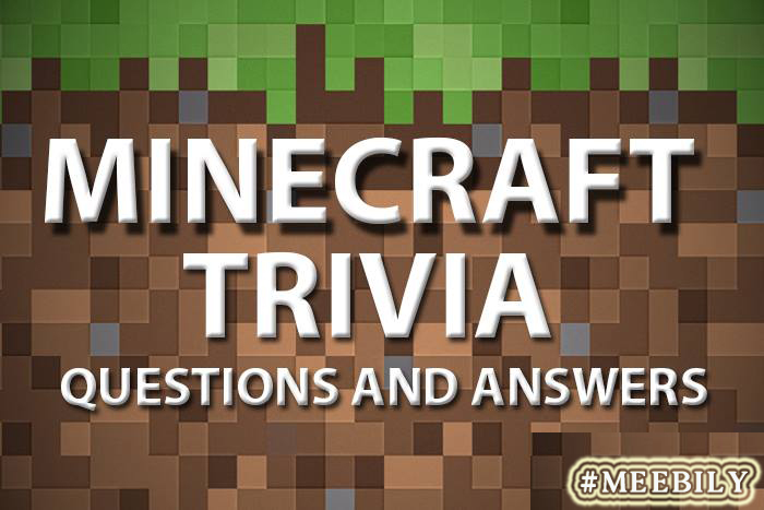 picture about Printable Trivia Question and Answers identified as 100+ Minecraft Trivia Ponder Option - Meebily