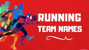 Funny Running Team Names