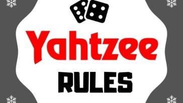 Yahtzee Rules How to Play Yahtzee Game