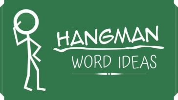 Hangman Word Ideas
