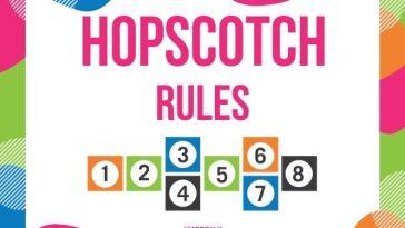 Hopscotch Rules
