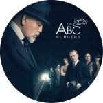 アガサクリスティー原作ABC殺人事件のDVDラベルです