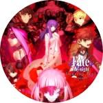 劇場版Fate_stay night Heaven's Feel 第二章のDVDラベル