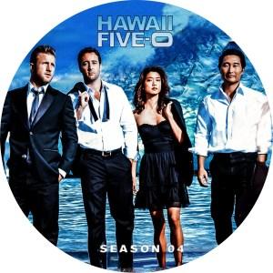 ハワイファイブオー season4のDVDラベルです