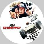1966年公開の映画「グランプリ」のDVDラベルです
