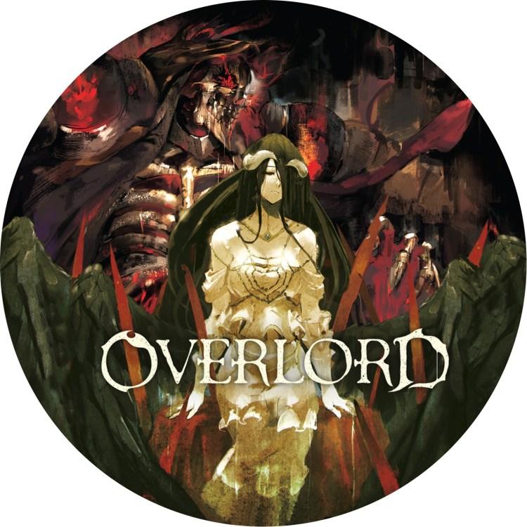 アニメ「オーバーロードⅠ(2)」のDVDラベルです