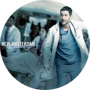 「ニュー・アムステルダム 医師たちのカルテseason 1」のDVDラベルです