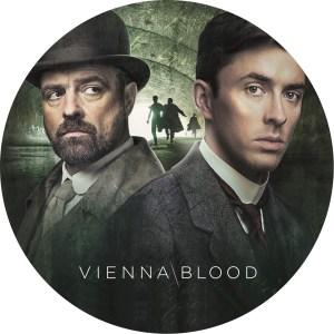 英国ドラマ「ヴィエナ・ブラッド」のDVDラベルです
