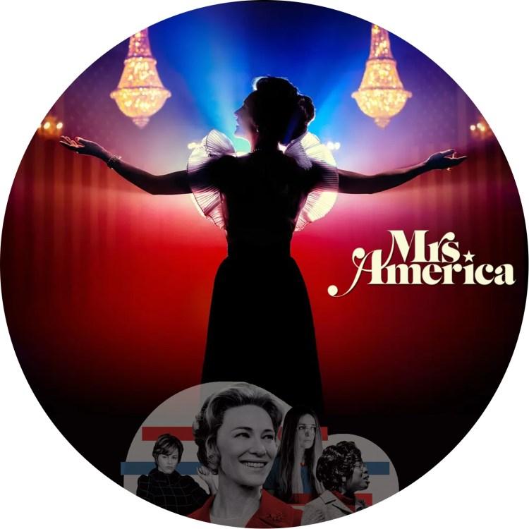 ミセス・アメリカ のDVDラベルです
