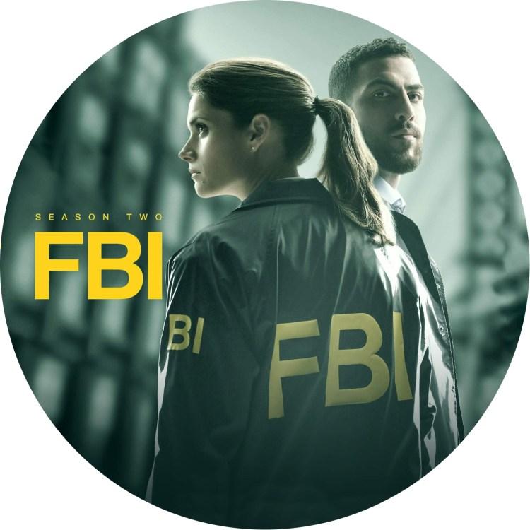 FBI シーズン2 のDVDラベルです