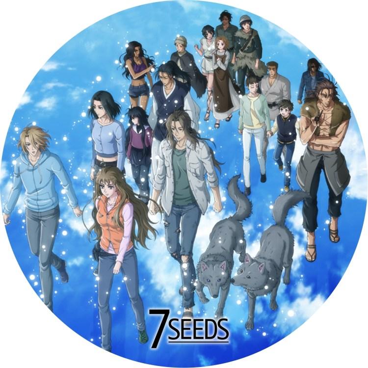 7seeds 2期 DVDラベル