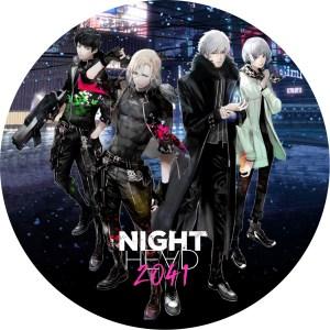 night head 2041 DVDラベル