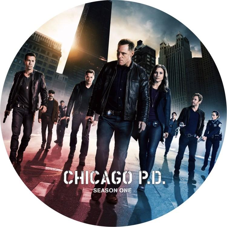 シカゴP.D. season 1 DVDラベル