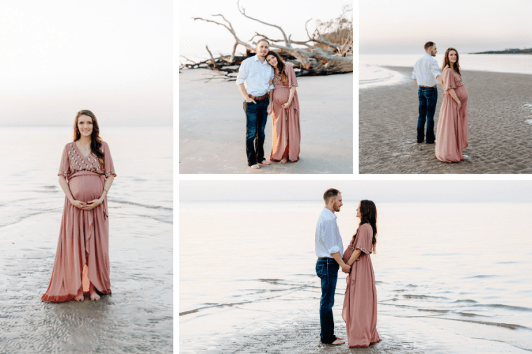 Beach Maternity Photos | Meekly Loving by Sydney Meek