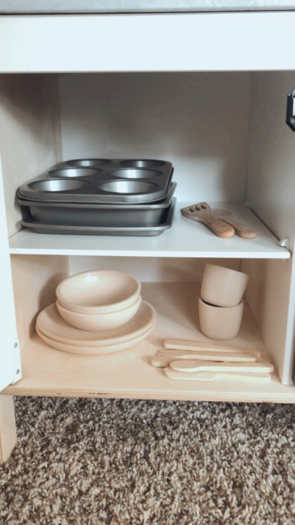 IKEA Duktig Play Kitchen Makeover | Meekly Loving by Sydney Meek