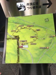 木道の案内図