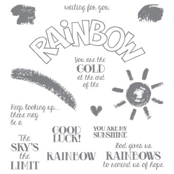 Over the Rainbow, Stamp Set, Stampin' Up