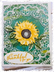 I Am Thankful for You card using Bird Ballad Laser Cut cards and Perennial Essence Designer Series Paper