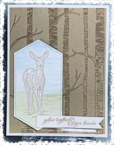 Stampin' UPs Natures Beauty card