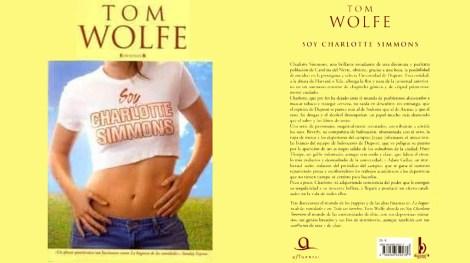 Yo soy Charlotte Simmons. Tom Wolfe