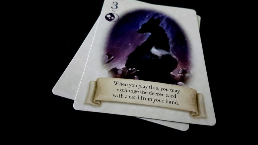 Cards with powers