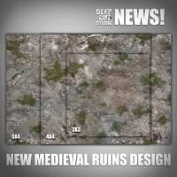 Deep Cut Studio - Medieval Ruins Terrain Mat