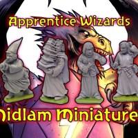 Midlam Miniatures Wizard's Apprentices
