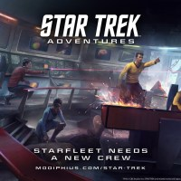 Modiphius Entertainment announces Star Trek Adventures...and Miniatures!