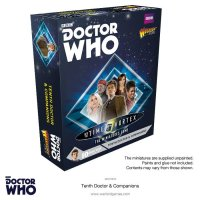 Doctor Who Miniatures Game - first minis available for pre-order