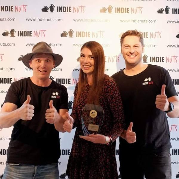 Kim Fabienne Hertinger IndieNuts Awards 2019