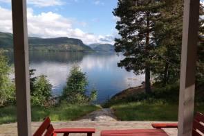 Frühstück am Fjord
