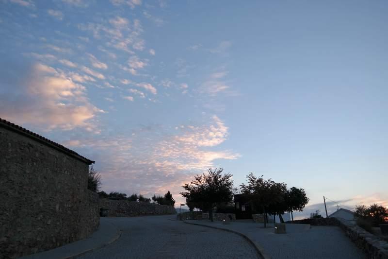 Morgens im Dorf