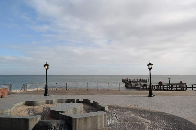 Wyk, Promenade