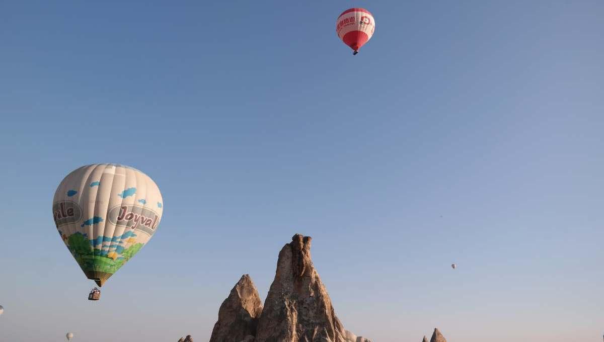 Im Heißluftballon über Kappadokien   Türkei