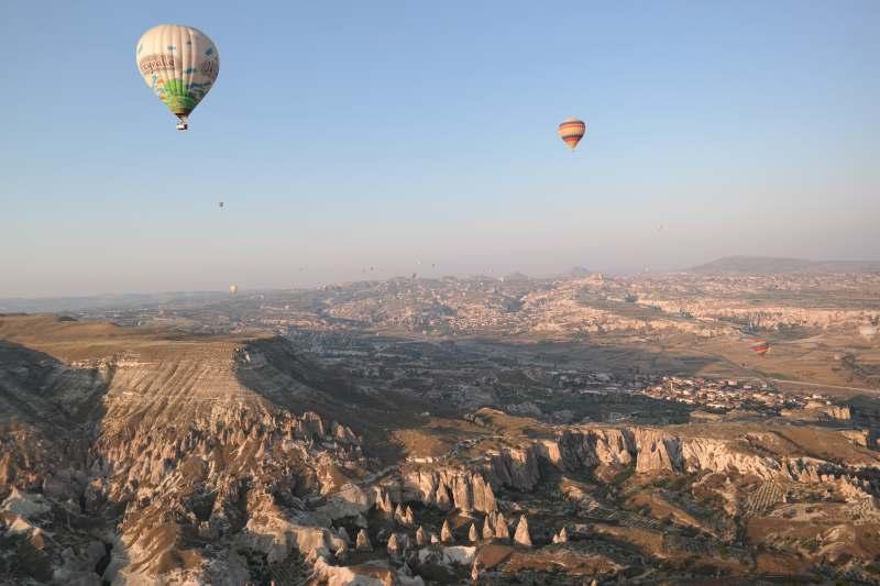 Ballons über Kappadokien © Elke Weiler | Meerblog