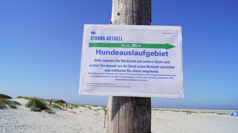 Hundeauslauf in St. Peter-Ording